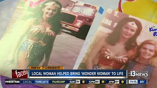 Valley woman was Wonder Woman stunt double - Video