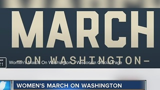 Wisconsinites part of thousands going to Women's March after Inauguration - Video