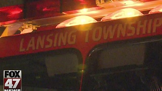 Fire at house in Lansing overnight - Video