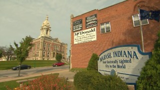"Wabash, Indiana is the first city to officially be ""lit""."