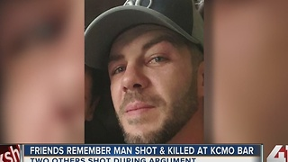 Overnight KCMO bar shooting kills 34-year-old father - Video