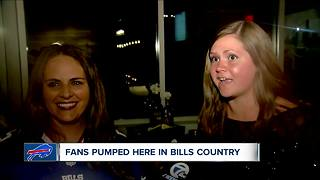 Bills go to playoffs, fans go crazy - Video