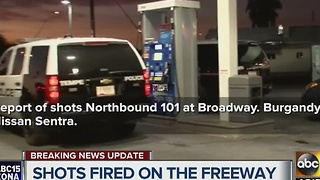 Scanner traffic on Loop 101 shooting - Video