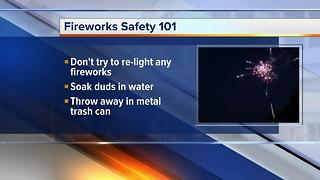 Fireworks safety 101