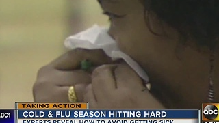 Cold and flu season hitting hard after weather change - Video