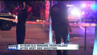 Family friend reacts to double shooting on Buffalo's West Side - Video
