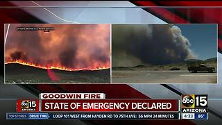 State of Emergency declared amid Goodwin Fire - Video