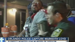 Orlando police capture Markeith Loyd, wanted for murder of officer - Video