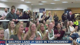Sailfish Land #1 Seed In Tournament - Video