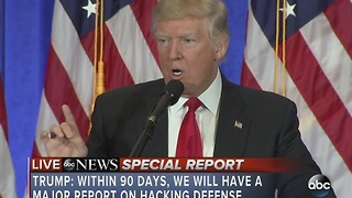 FULL VIDEO: President-Elect Donald Trump news conference - Video