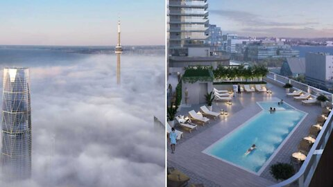 Canada's Record-Breaking New Tower Is Officially Being Built In Toronto Right Now