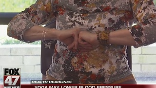Yoga may lower blood pressure - Video