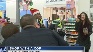 Kids 'Shop With a Cop' in Milwaukee - Video