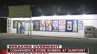 West Tulsa Quality Food Mart store robbed overnight - Video
