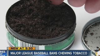 Tony Gwynn's wife reacts to MLB's banning of chewing tobacco - Video