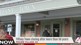 Tiffany Town set to close next month - Video