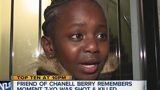 Little girl pleads for answers in shooting - Video