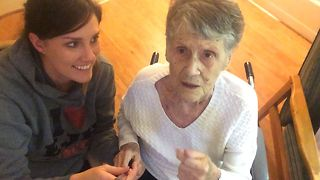Grandma Discovers The Selfie Stick - Video