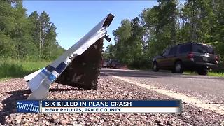 Authorities: 6 killed in plane crash in northern Wisconsin - Video