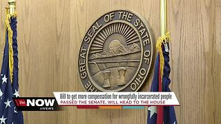 UPDATE: Bill to get compensation for more wrongfully convicted inmates passes Senate, but may face hurdle - Video