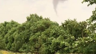 Funnel Cloud Forms in New Virginia - Video