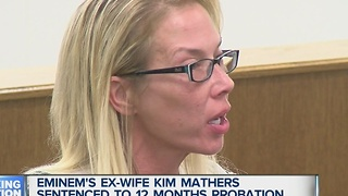 Kim Mathers sentenced to probation - Video
