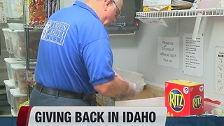 Idaho ranked second in the nation for volunteerism - Video