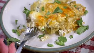 Green chili chicken lasagna recipe
