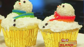 Master Steph: Snowman Cupcakes 12/20/16 - Video