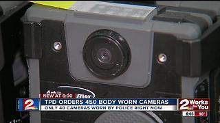 TPD orders 450 new body cameras