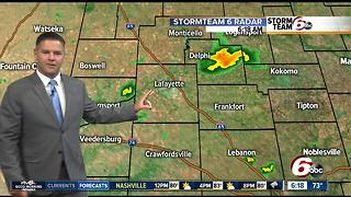 ALERT: Scattered thunderstorms possible all day - Video