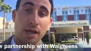 Digital Short: Florida Hospital teaming up with Walgreens - Video