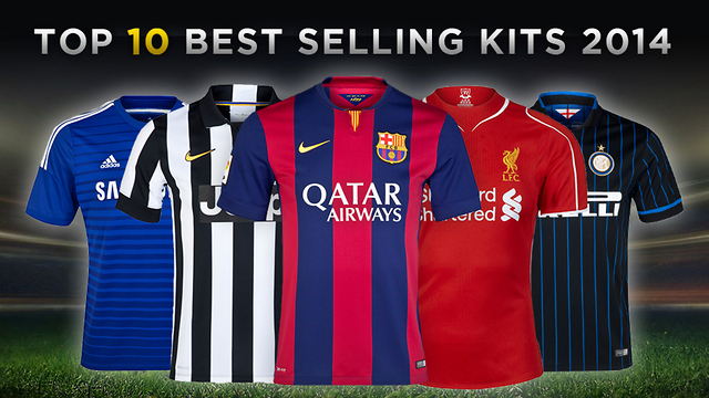 cbc8346646b Top 10 Best Selling Soccer Kits 2014