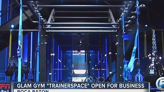 Boca Raton glam gym Trainerspace open for business - Video