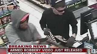 Help police identify North Las Vegas robbery suspects - Video