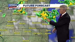 Brian Gotter's Monday 5pm Storm Team 4cast - Video