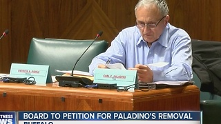 Buffalo School Board passes resolution, will file petition to remove Carl Paladino - Video