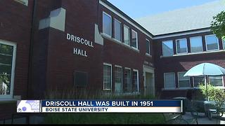 BSU: Historic Driscoll Hall to go