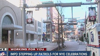 Indianapolis police stepping up patrols for New Year's Eve celebrations - Video