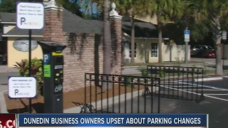 Business owners uneasy about paid parking in downtown Dunedin - Video