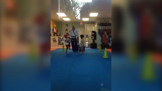 Cutest Karate Match Of All Time - Video
