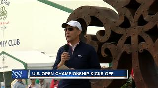 U.S. Open Championship kicks off in Wisconsin - Video