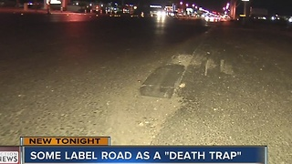 Motorcyclist labeling road as 'death trap' - Video