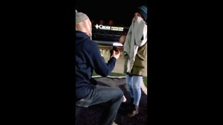 Super Bowl LI proposal at Gillette Stadium - Video