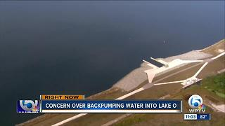 Back pumping into Lake Okeechobee concerns Treasure Coast residents - Video