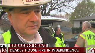 Fatal house fire reported in Independence - Video