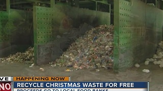 American Waste Control lets you recycle your Christmas waste free in its busiest season - Video