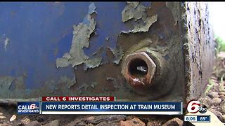 CALL 6: Inspection report details hazardous materials at Indiana Transportation Museum - Video