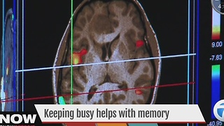 Study links busy schedules to better cognitive function - Video