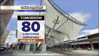 Dry and cool tonight - Video